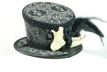 Dark Gothic strange Hats on Etsy