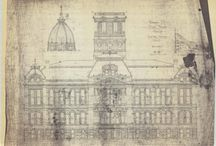 Delaware County Courthouse Collection / The Delaware County Courthouse digital collection contains architectural drawings and images related to the elegant Beaux-arts style courthouse.  To learn more about this collection visit the Delaware County Courthouse Collection in the Ball State University Digital Media Repository.