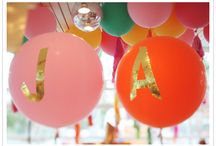 Inspiration for Birthday Party  / Time to plan for a sweet baby girl's first birthday party