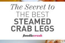 Seafood recipes / Garlic parm salmon