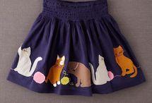 falda niñas