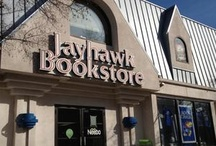 Jayhawk Bookstore in Lawrence, Kansas / by Michael Lickteig