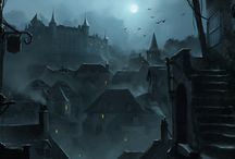 Gothic Horror Campaign / A board to collect imagery for my upcoming Gothic Horror/Dark Fantasy Pathfinder campaign.