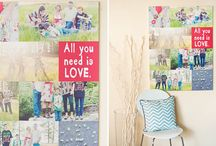 wall display ideas / by Cailey Shivers