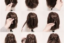 Hair / See how many things you can do with your hair