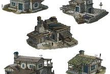 Ideas 3D - Architecture / Cases, edificis, houses, buildings