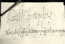 Random stroke of creativity / giving a try to callipraghy