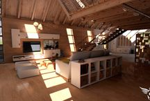 Fibix Studio Archviz projects / Projects made by Fibix Studio focusing to Architecture visualizations rendered in Real-Time in own engine called Fibix Editor.