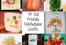 Autumn crafts & ideas