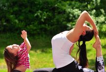 Yoga for kids / Introducing your children to yoga at an early age can help them learn healthy lifestyle habits and set the foundation for a fit future. Here are kid-friendly yoga poses to get your family practice started.