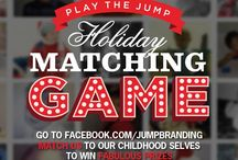 Holiday Magic / Clients and Suppliers, play our Matching Game to win fantastic prizes!
