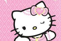 Hello kitty y amigos