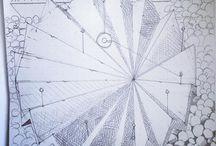 my work Crenelated #orrery demanded dexterity and ladders #sketch #drawing @blackwing  @moleskine_arts www.coleajeremy.com