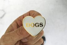 Pins and patches for dog lovers