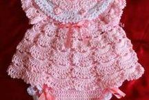 Vestido Bebê Croche