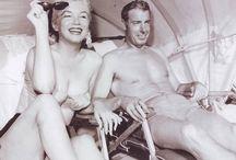 Norma Jean and DiMaggio