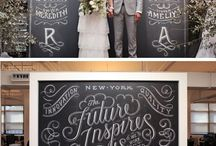 Chalkboard writing / by . .