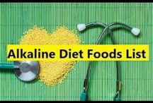 Best Alkaline Foods List / Alkaline Diet Foods List