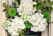 Greeny White Wedding