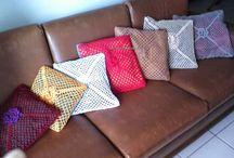 Ideias para a casa / Peças em crochet  feitas por Wal Reis
