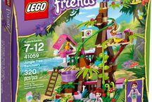 LEGO Friends 41059-Jungle Tree Sanctuary