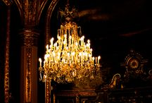 Let There Be Light / Chandeliers Candlelight and Beautiful Lights / by Dorothy Reed