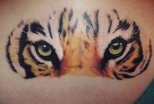 Tigertatueringar