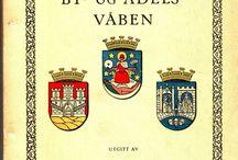 Norske by- og adelsvåpen av Kaffe Hag Aktieselskap Oslo. / Heraldry
