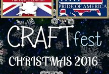 #CRAFTfest - Christmas 2016 / Stall holders taking part in the #CRAFTfest Christmas 2016 Event share with you their creations.  www.craftfest-events.com