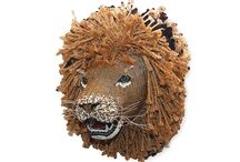 African Creative - Bead and Rope Wall Hanging