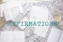 AFFIRMATIONS | ART OF DAILY PRACTICE / ART OF DAILY PRACTICE |