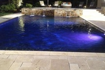 Pool lighting features