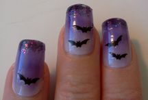 Halloween nail ideas for Alora