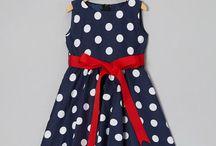 Look what I found on #zulily! Blue Polka Dot Bow Dress - Infant, Toddler & Girls #zulilyfinds