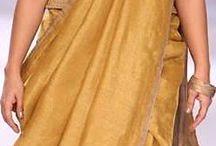 Sari draping