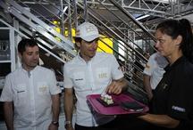 Carbonell en la F1 / Ponemos alma a la cocina de la Fórmula 1 con nuestros aceites de oliva, aceitunas y vinagres Carbonell ;)