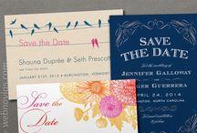 Invitaciones de boda - Wedding invitations