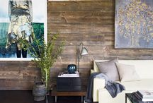 LIVINGROOM / Living room reclaimed wood