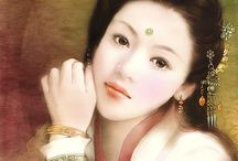 Ancient Chinese Beauty / Beautiful Illustrations of Ancient Chinese Women
