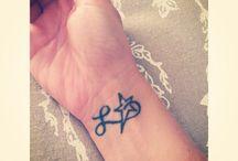 Mes tatouages / Je vous présente mes tatouages