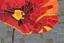 DIY kids mosaic paper craft