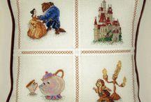 Cross Stitch Disney / Disney Dreams Collection Cross Stitch Designs by Thomas Kinkade