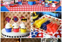 Superheroes party ideas