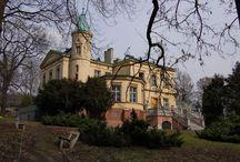 Grodziec - Pałac / Pałac w Grodźcu (dzielnica Będzina) został wybudowany w latach 40. XIX wieku przez Jana Ciechanowskiego według projektu Franciszka Lanciego. Obecnie jest Domem Pomocy Społecznej.