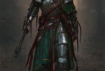 Fantasy + chevaliers