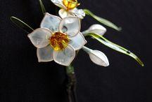 花簪  櫛  簪