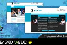 Web Site Design with Pixel Clear
