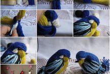 Passerotti di lana
