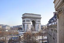 Views from the Splendid Etoile / Viewsfrom rooms of the Hôtel Splendid Etoile