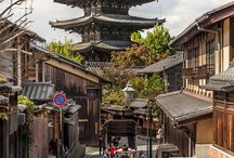 Kyoto, Japan / Kyoto served as Japan's capital and the emperor's residence from 794 until 1868. It is now the country's seventh largest city with a population of 1.4 million people and a modern face.